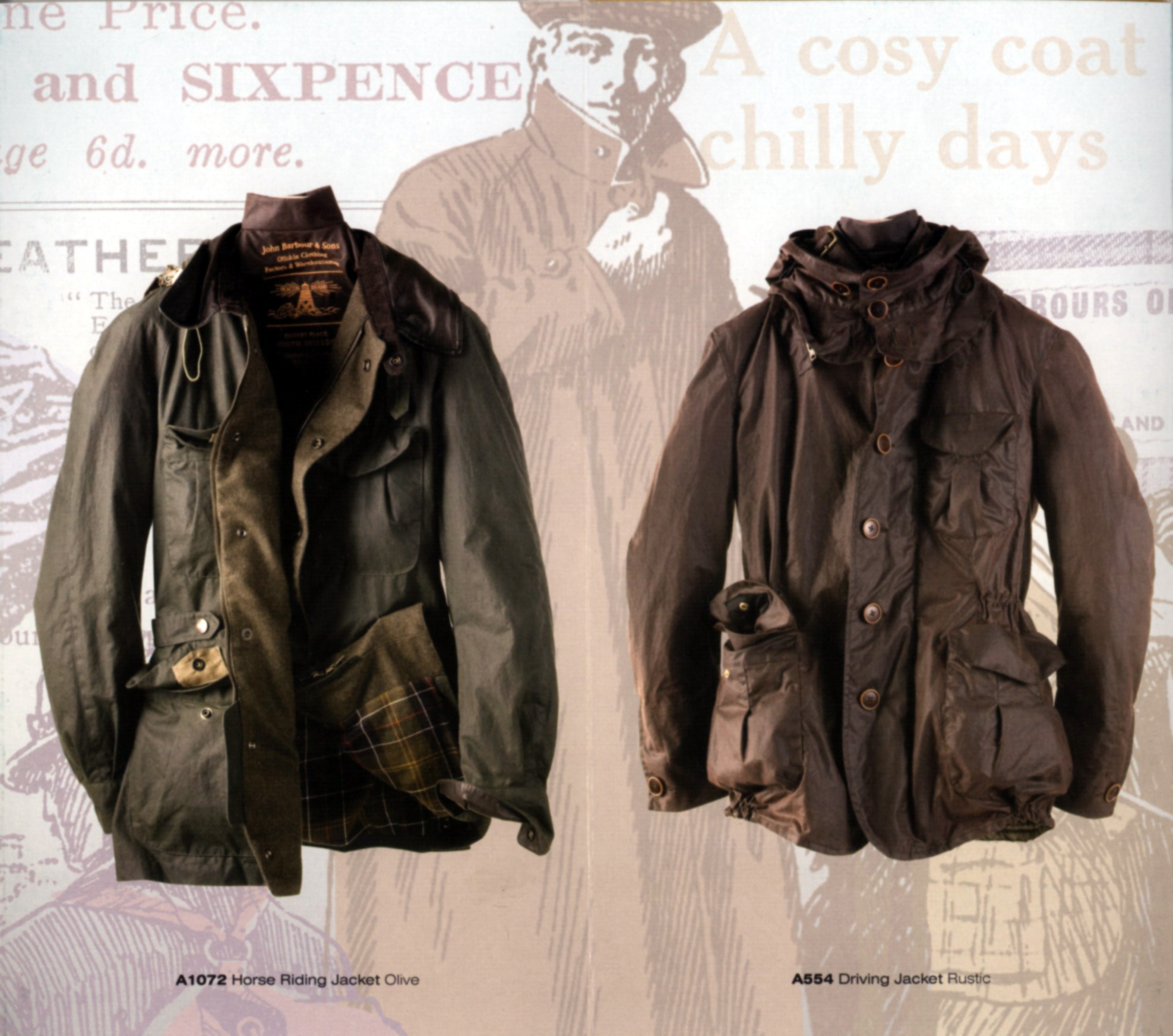 Barbour Limited Edition Collection Legacy Moto
