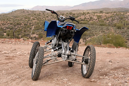 Wesll 4 Wheel Leaning Suspension System Legacy Moto