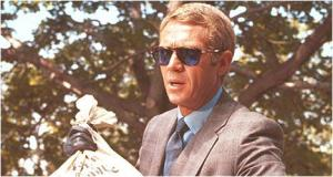 Steve McQueen sporting persols (The Thomas Crown Affair)