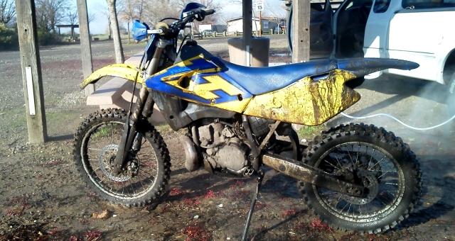 WR250 motocross